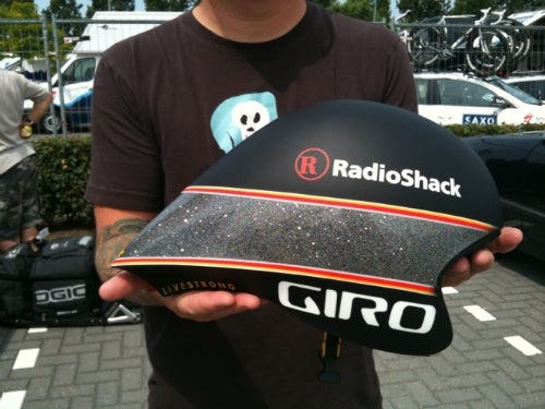 Lance Armstrong's $15,000 Bike Helmet