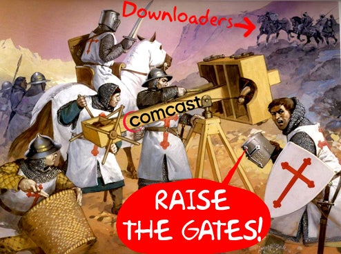"Comcast Starts ""Net Neutral"" Slowdowns of Heavy Broadband Users"