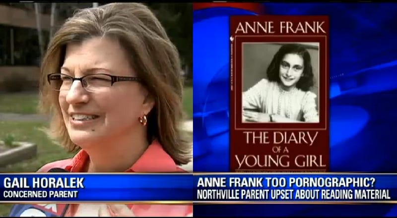 Mother Wants 'Pornographic' Diary of Anne Frank Pulled from School