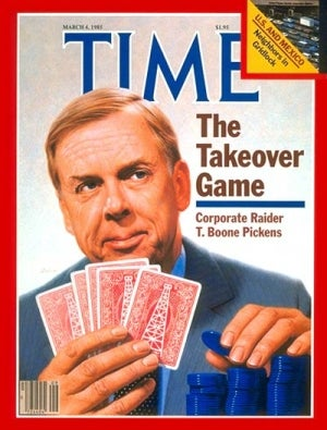 T. Boone Pickens Gives Up on Wind