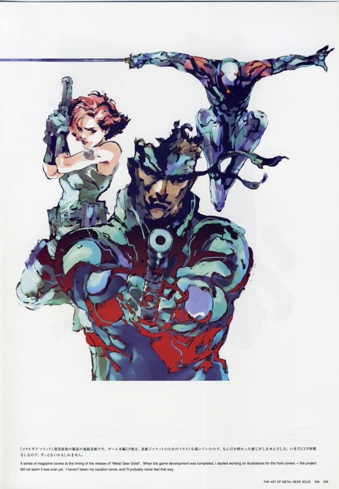 Metal Gear Ain't Metal Gear Without Yoji Shinkawa's Iconic Art