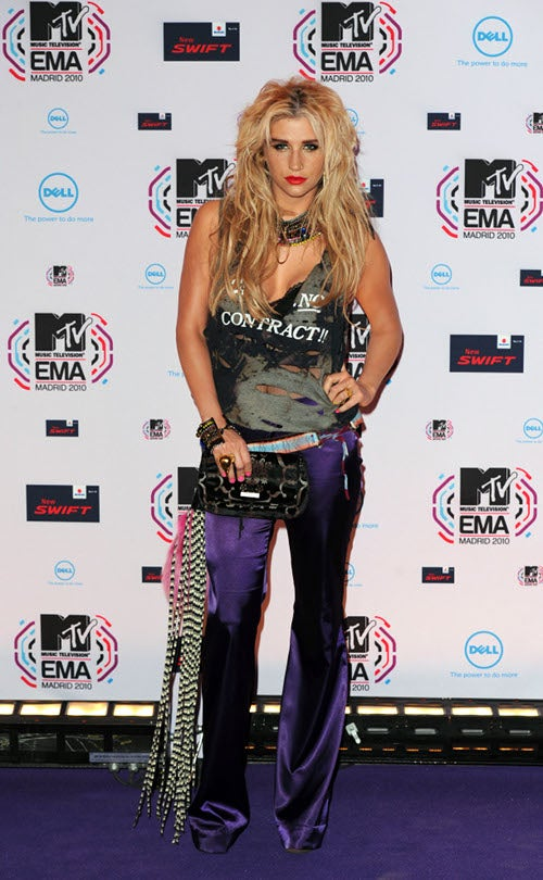 The Spectacular Train Wreck That Was The MTV Europe Awards