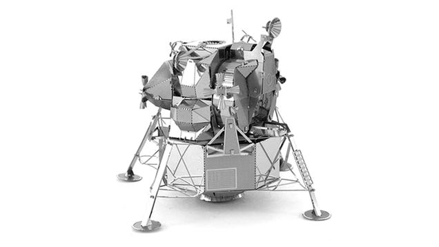 Test Your Origami Skills With this Intricate Metal Apollo Lunar Lander