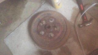 Swaged Wheel Stud Removal