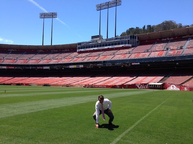 Here's How To Sneak Into Candlestick Park