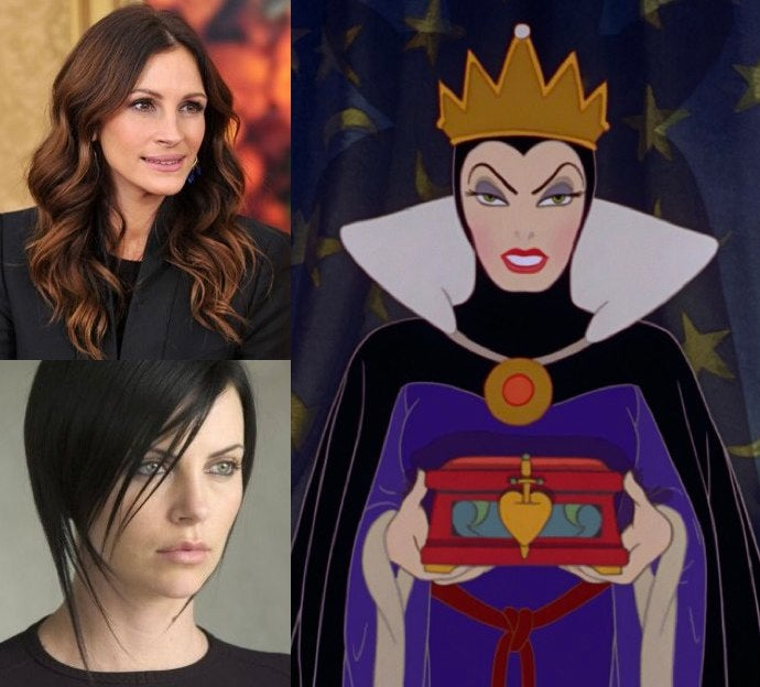 Will Julia Roberts and Charlize Theron both play Snow White's Evil Queen next year?