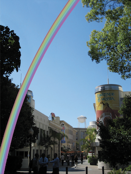 Sony Is Building A Gigantic Permanent Rainbow in Los Angeles