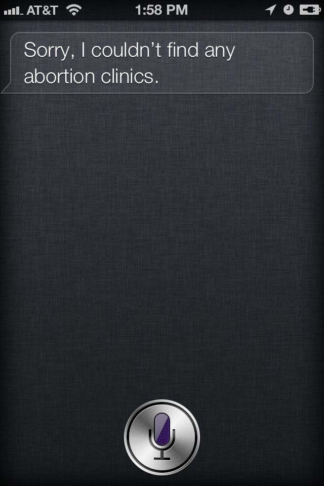 Is Siri Pro Life? Apparently Yes (Updated)