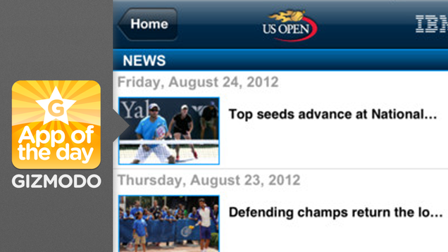 2012 US Open Tennis Championships: Catch All the Center Court Action From Your Phone