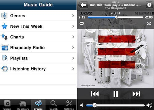 Rhapsody Approved for iPhone and iPod Touch, Now Streaming 8 Million Tracks