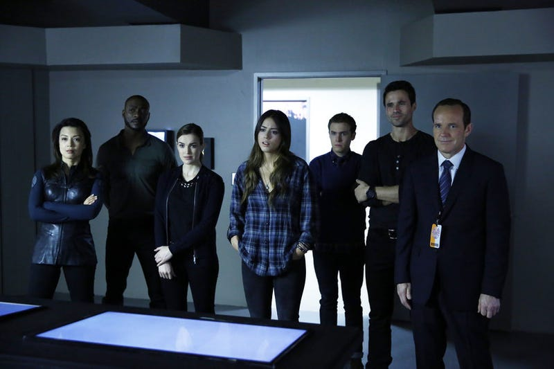 The Agents Of SHIELD Survive For A Second Season