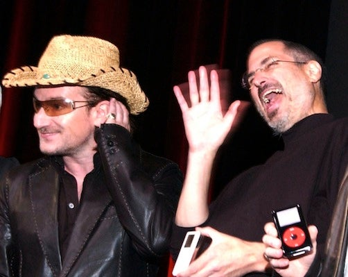 Are Bono and Steve Jobs About to Go to War Again?