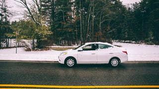 I drove America's cheapest car through wintry New England and loved it