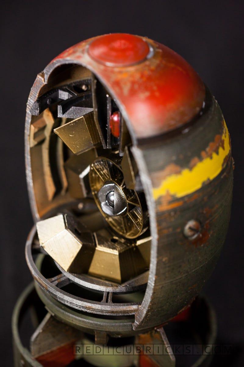 Fallout Fan 3D Prints a Mini Nuke