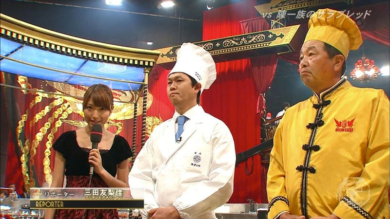 The New Iron Chef's Bad Ratings Blamed on Unappetizing Food