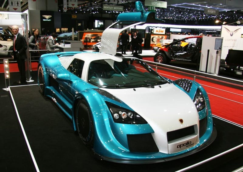 2009 Geneva Motor Show: Day One