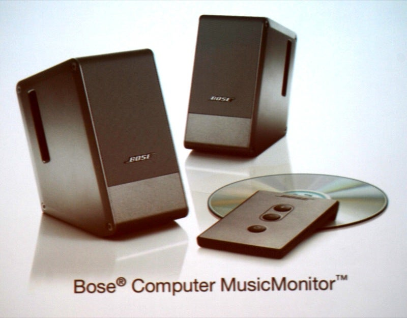Inside the Bose MusicMonitor Speakers (And How Bose Deals With the Bashing)