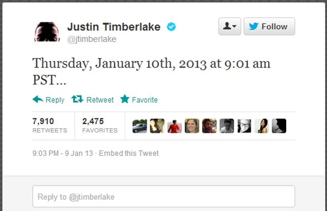 A New Justin Timberlake Single Featuring Jay-Z and Beyoncé Might Be Dropping in the Next Few Minutes [UPDATE]