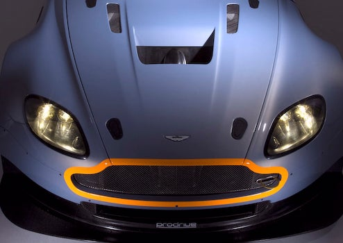 Aston Martin Releases Official Vantage GT2 Shots
