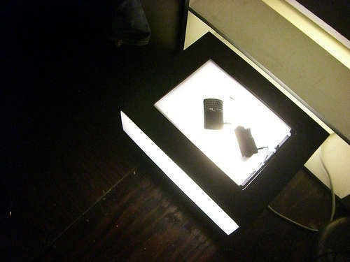 Make a DIY Nightstand Charging Station Lamp