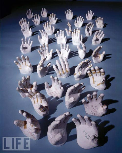 These Are the Hands of the Apollo Astronauts