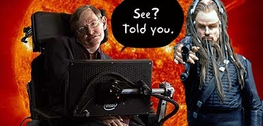 Stephen Hawking's Tips for Contacting E.T: Everyone Please Just STFU