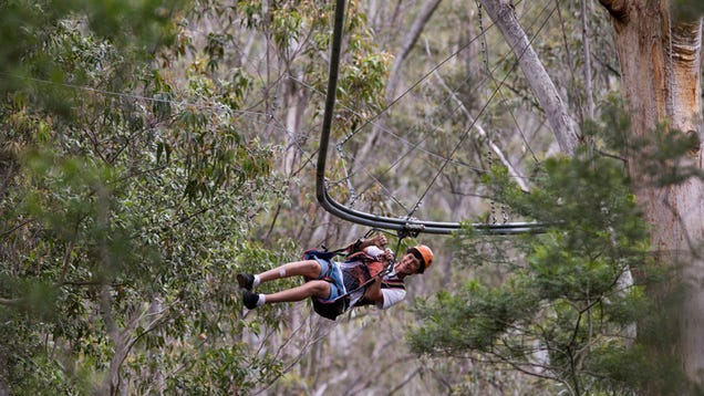 The World's Longest Zip Line Roller Coaster Looks Terrifyingly Awesome