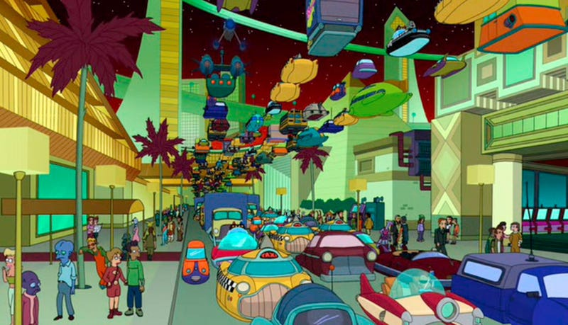 Futurama's Creator Isn't Afraid of Robots, Doesn't Own a Roomba