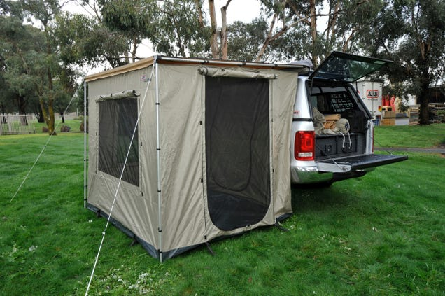 Arb Awning Room