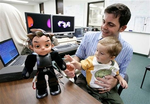 Zeno Robot Boy May One Day Replace Inventor's Son
