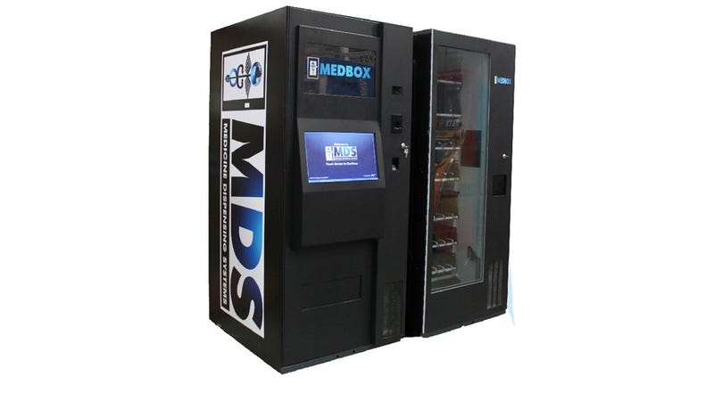 Vending Machines For Pot Products Exist Now