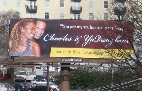 Billboards and Web Site Were a 'Gift' from a Scorned Mistress