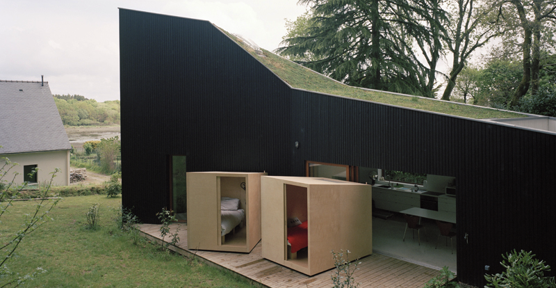This Home's Bedrooms Have Wheels So You Can Roll Them Outside