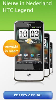 HTC Legend Appears On Dutch Website, Will Go On Sale March And Look Even Sexier Than First Anticipated