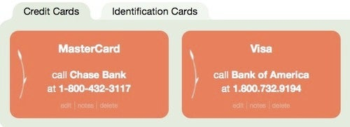 Save Your Credit Card Customer Service Numbers to Guard Against Identity Theft
