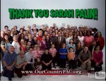 New Sarah Palin Campaign Ad!