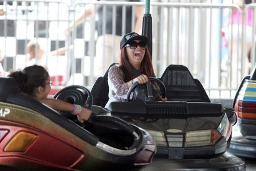 Gallery: Snooki's Joyous Sunday In The (Amusement) Park