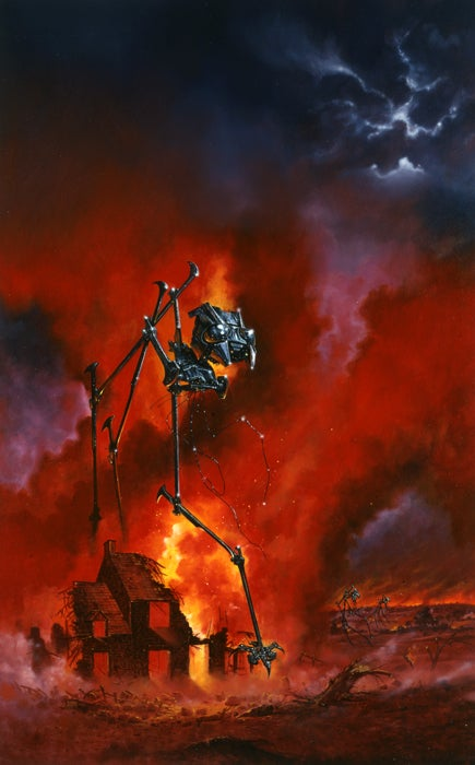 From Rawhead Rex to Zeppelins and Back with SF Artist Les Edwards