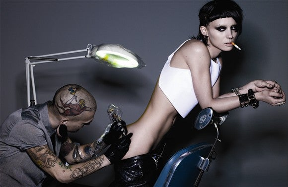 Lisbeth Salander Bares — Well, Some.