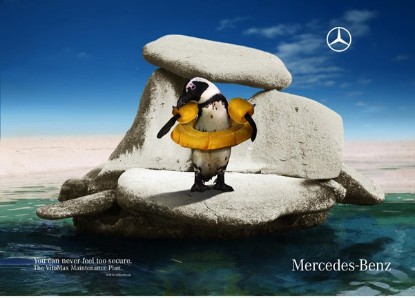 Mercedes Understands No One Actually Likes Penguins That Much Anyways