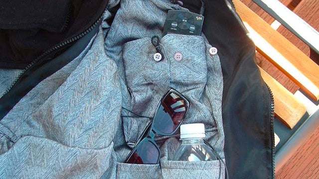 Build Your Own Vest Lined with Hidden Pockets with Bargain Thrift Store Finds