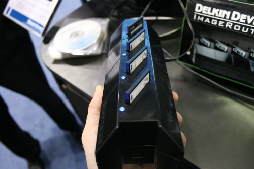 Delkin ImageRouters Can Dump 8 CF Cards At Once