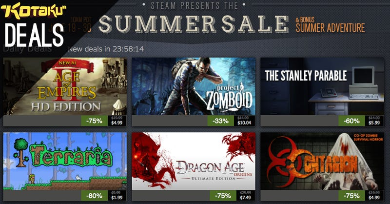 Steam Summer Sale Day 3 and The Best Deals for June 21, 2014