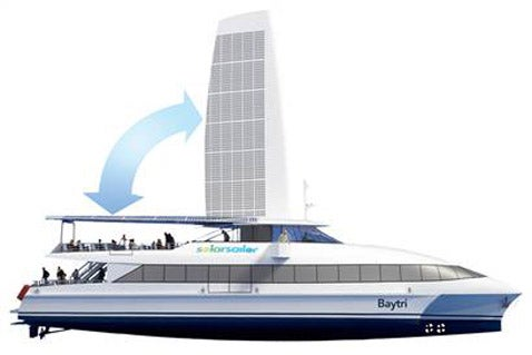 Solar Ships May Carry Passengers in San Francisco as Early as 2009