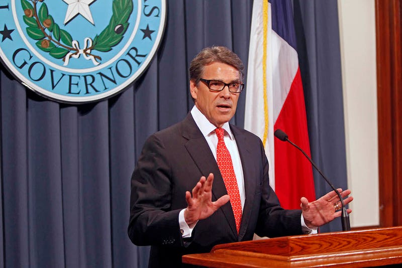 """Texas Governor Rick Perry Calls Indictment """"Outrageous"""""""