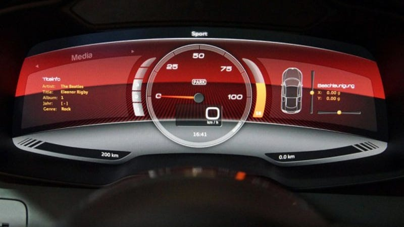 Audi's Electric R8 Concept Uses An iPad In Ways Other Cars Wish They Could