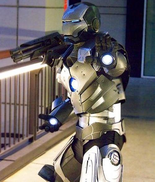 War Machine Costume...Errr, We THINK It's a Costume