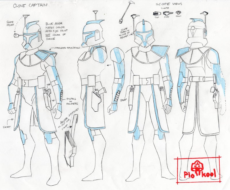 Clone Wars concept art