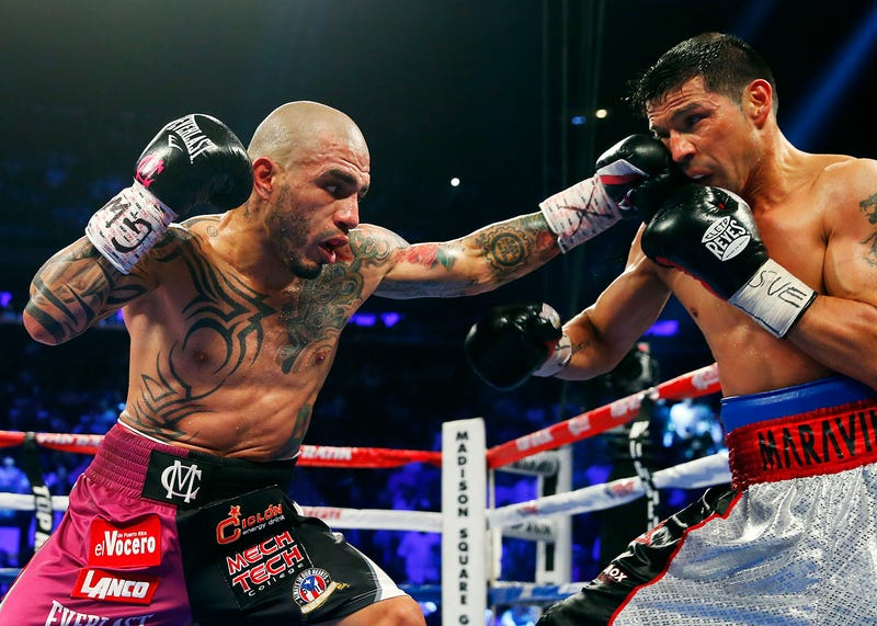 Miguel Cotto Is Golden Arms