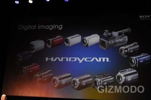 Sony's New Camera and Camcorders Finally Support SD Cards, Wireless Sharing